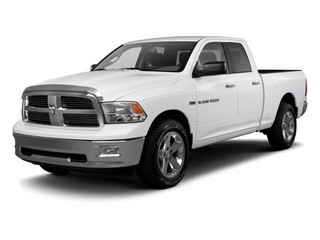 2012 Ram Truck 1500 Pictures 1500 Quad Cab Express 2WD photos side front view