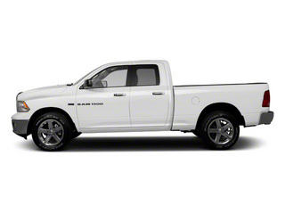 2012 Ram Truck 1500 Pictures 1500 Quad Cab Tradesman 4WD photos side view