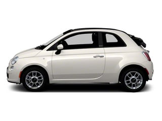 2012 FIAT 500 Pictures 500 Convertible 2D Lounge photos side view