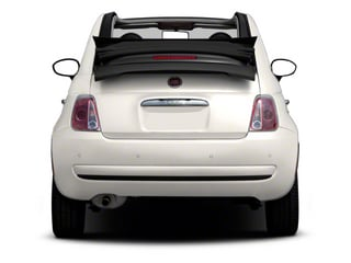 2012 FIAT 500 Pictures 500 Convertible 2D Lounge photos rear view