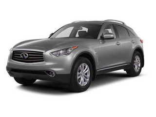 2012 INFINITI FX35 Pictures FX35 FX35 Limited AWD photos side front view
