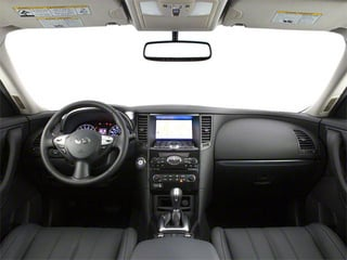 2012 INFINITI FX35 Pictures FX35 FX35 Limited AWD photos full dashboard