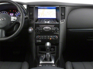 2012 INFINITI FX35 Pictures FX35 FX35 Limited AWD photos center console