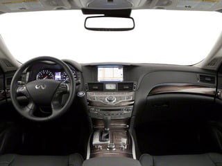 2012 INFINITI M56 Pictures M56 Sedan 4D photos full dashboard