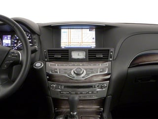 2012 INFINITI M56 Pictures M56 Sedan 4D photos center dashboard