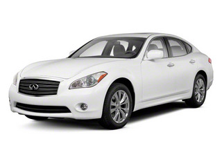2012 INFINITI M37 Pictures M37 Sedan 4D x AWD photos side front view