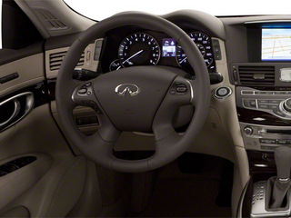 2012 INFINITI M37 Pictures M37 Sedan 4D x AWD photos driver's dashboard