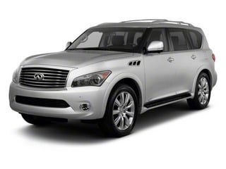 2012 INFINITI QX56 Pictures QX56 Utility 4D 4WD photos side front view