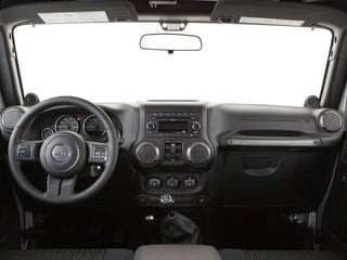 2012 Jeep Wrangler Unlimited Pictures Wrangler Unlimited Utility 4D Unlimited Altitude 4WD V6 photos full dashboard
