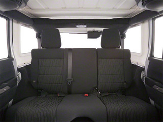 2012 Jeep Wrangler Unlimited Pictures Wrangler Unlimited Utility 4D Unlimited Altitude 4WD V6 photos backseat interior