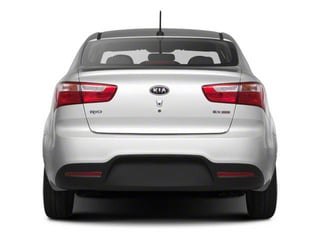 2012 Kia Rio Pictures Rio Sedan 4D LX photos rear view