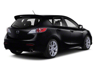 2012 Mazda Mazda3 Pictures Mazda3 Wagon 5D SPEED photos side rear view