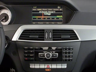 2012 Mercedes-Benz C-Class Pictures C-Class Coupe 2D C63 AMG photos stereo system