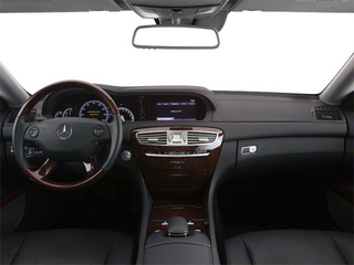 2012 Mercedes-Benz CL-Class Pictures CL-Class Coupe 2D CL550 AWD photos full dashboard