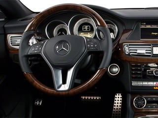2012 Mercedes-Benz CLS-Class Pictures CLS-Class Sedan 4D CLS63 AMG photos driver's dashboard