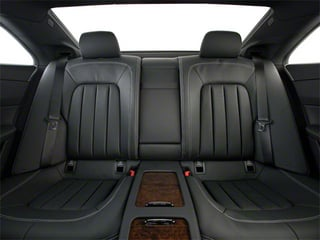 2012 Mercedes-Benz CLS-Class Pictures CLS-Class Sedan 4D CLS63 AMG photos backseat interior