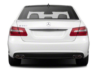 2012 Mercedes-Benz E-Class Pictures E-Class Sedan 4D E550 AWD photos rear view