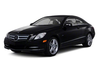 2012 Mercedes-Benz E-Class Pictures E-Class Coupe 2D E550 photos side front view