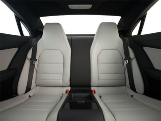 2012 Mercedes-Benz E-Class Pictures E-Class Coupe 2D E550 photos backseat interior