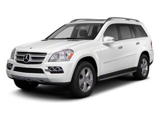 2012 Mercedes-Benz GL-Class Pictures GL-Class Utility 4D GL550 4WD photos side front view