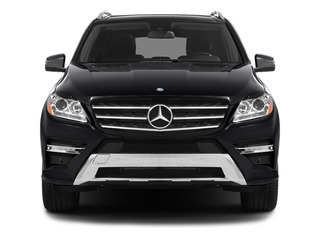 2012 Mercedes-Benz M-Class Pictures M-Class Utility 4D ML550 AWD photos front view