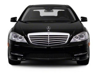 2012 Mercedes-Benz S-Class Pictures S-Class Sedan 4D S63 AMG photos front view