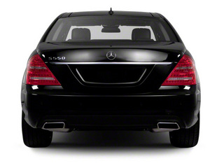 2012 Mercedes-Benz S-Class Pictures S-Class Sedan 4D S63 AMG photos rear view