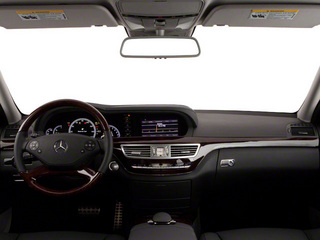 2012 Mercedes-Benz S-Class Pictures S-Class Sedan 4D S63 AMG photos full dashboard