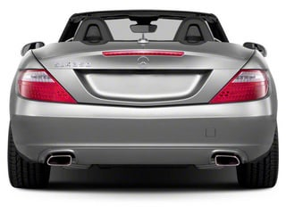 2012 Mercedes-Benz SLK-Class Pictures SLK-Class Roadster 2D SLK350 photos rear view