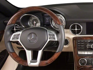 2012 Mercedes-Benz SLK-Class Pictures SLK-Class Roadster 2D SLK350 photos driver's dashboard