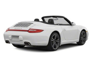 2012 Porsche 911 Pictures 911 Cabriolet 2D Turbo AWD photos side rear view