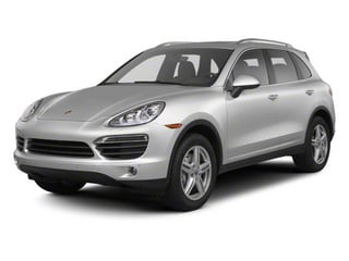 2012 Porsche Cayenne Pictures Cayenne Utility 4D S AWD (V8) photos side front view