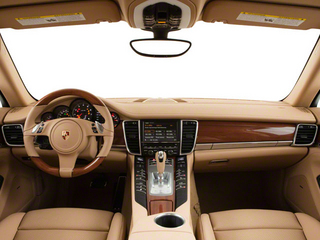 2012 Porsche Panamera Pictures Panamera Hatchback 4D Turbo AWD photos full dashboard