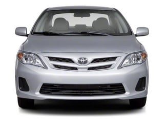 2012 Toyota Corolla Pictures Corolla Sedan 4D S photos front view
