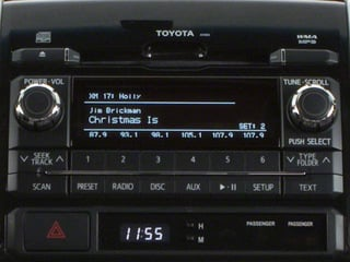 2012 Toyota Tacoma Pictures Tacoma Base 2WD photos stereo system