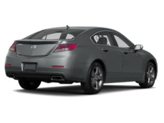 2013 Acura TL Pictures TL Sedan 4D Advance V6 photos side rear view