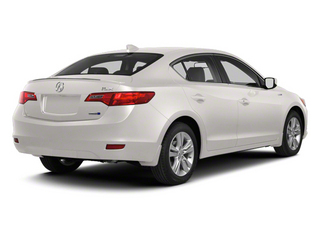 2013 Acura ILX Pictures ILX Sedan 4D Hybrid Technology photos side rear view