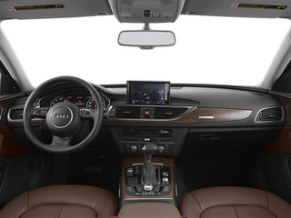 2013 Audi A6 Pictures A6 Sedan 4D 2.0T Premium 2WD photos full dashboard
