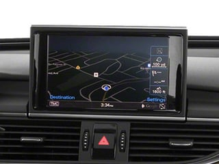 2013 Audi A6 Pictures A6 Sedan 4D 2.0T Premium 2WD photos navigation system