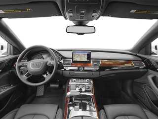 2013 Audi A8 L Pictures A8 L Sedan 4D 6.3 L AWD W12 photos full dashboard