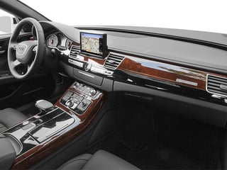 2013 Audi A8 L Pictures A8 L Sedan 4D 3.0T L AWD V6 Turbo photos passenger's dashboard