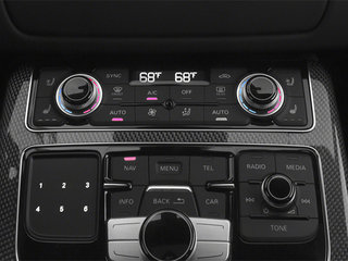 2013 Audi S8 Pictures S8 Sedan 4D S8 AWD photos stereo system