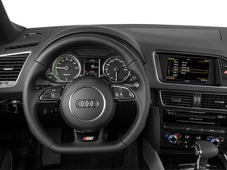 2013 Audi Q5 Pictures Q5 Utility 4D 2.0T Prestige AWD Hybrid photos driver's dashboard