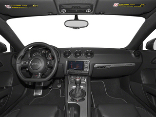 2013 Audi TT RS Pictures TT RS Coupe 2D RS AWD photos full dashboard