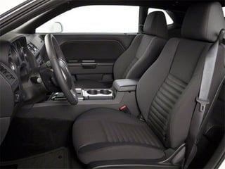 2013 Dodge Challenger Pictures Challenger Coupe 2D SRT-8 Core V8 photos front seat interior