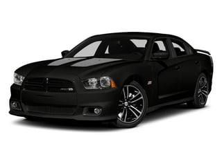 2013 Dodge Charger Pictures Charger Sedan 4D SRT-8 Super Bee V8 photos side front view