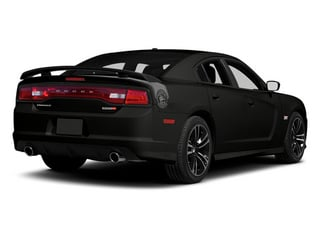 2013 Dodge Charger Pictures Charger Sedan 4D SRT-8 Super Bee V8 photos side rear view
