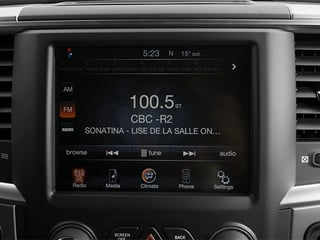 2013 Ram Truck 1500 Pictures 1500 Crew Cab Express 2WD photos stereo system