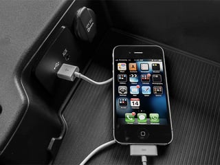 2013 Ram Truck 1500 Pictures 1500 Regular Cab HFE 2WD photos iPhone Interface