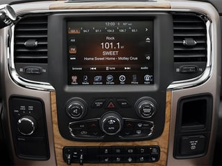 2013 Ram 2500 Pictures 2500 Mega Cab Limited 2WD photos stereo system